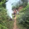 Trekking i den thailändska vildmarken